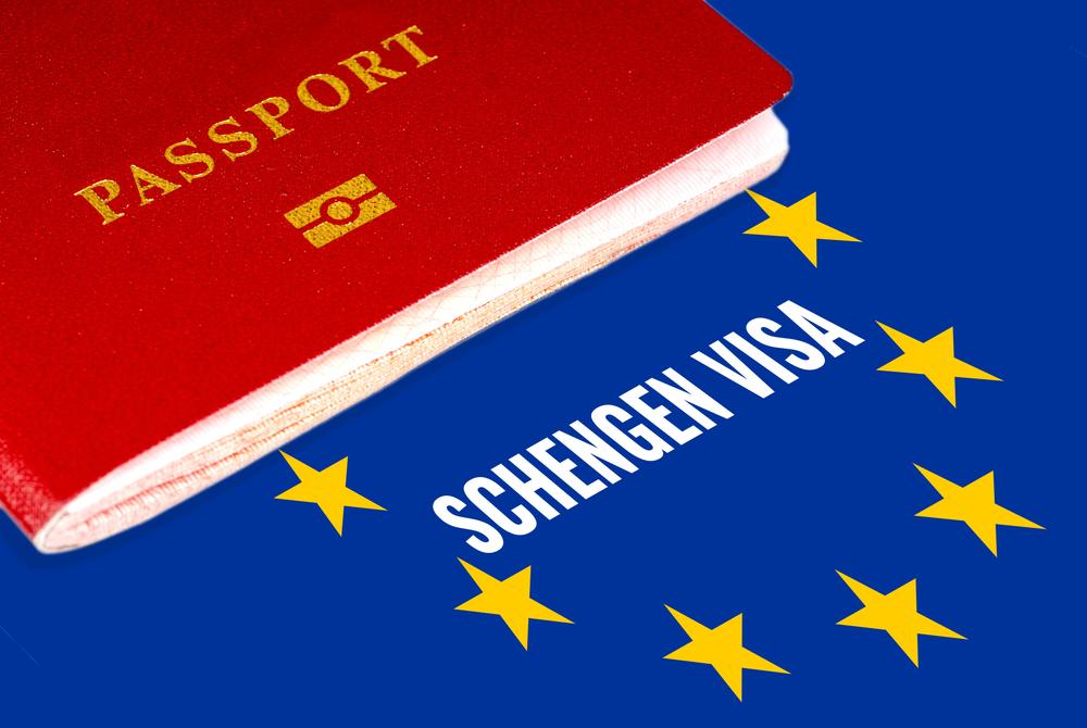 Первая шенгенская виза